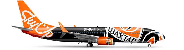 SkyUp airplane