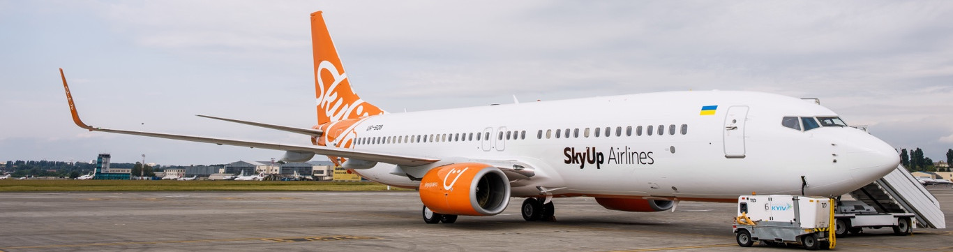 Те, чого ми чекали: SkyUp Airlines фарбує борти і модифікує салони своїх літаків