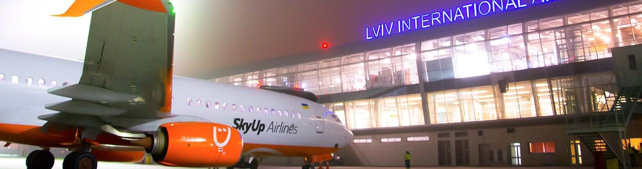 SkyUp выполнил первый рейс из Львова в Тель-Авив